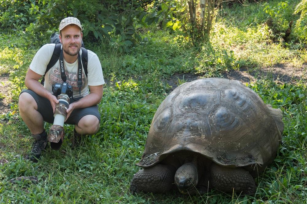 rondreis ecuador schildpad