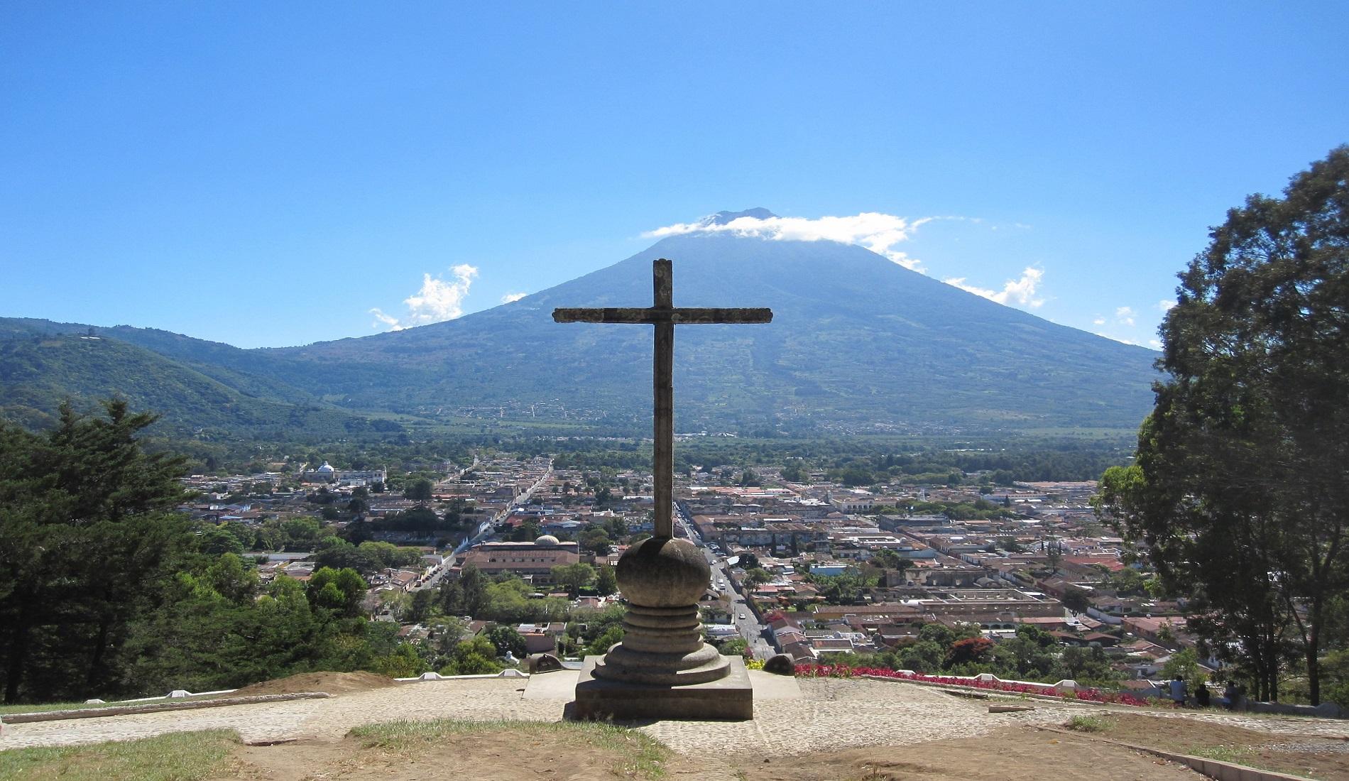 rondreis guatemala agua vulkaan