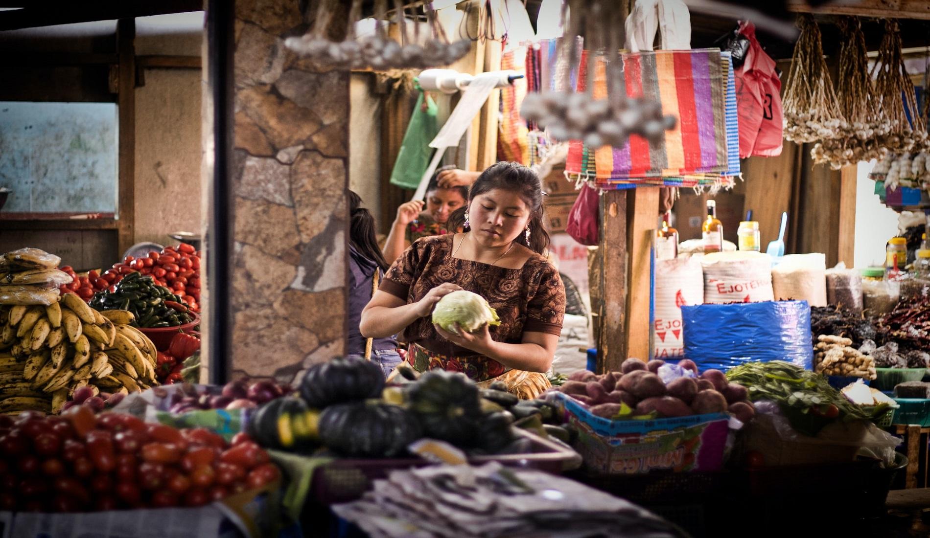 rondreis guatemala markt
