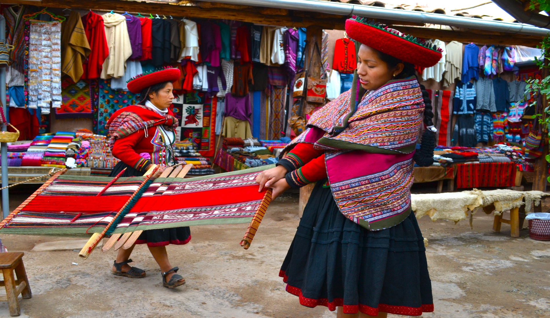 rondreis peru Chinchero local