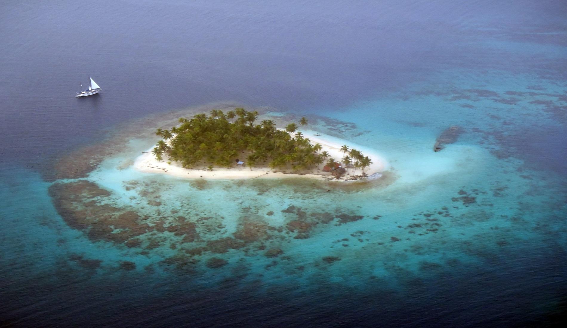 San Blas eiland Panama