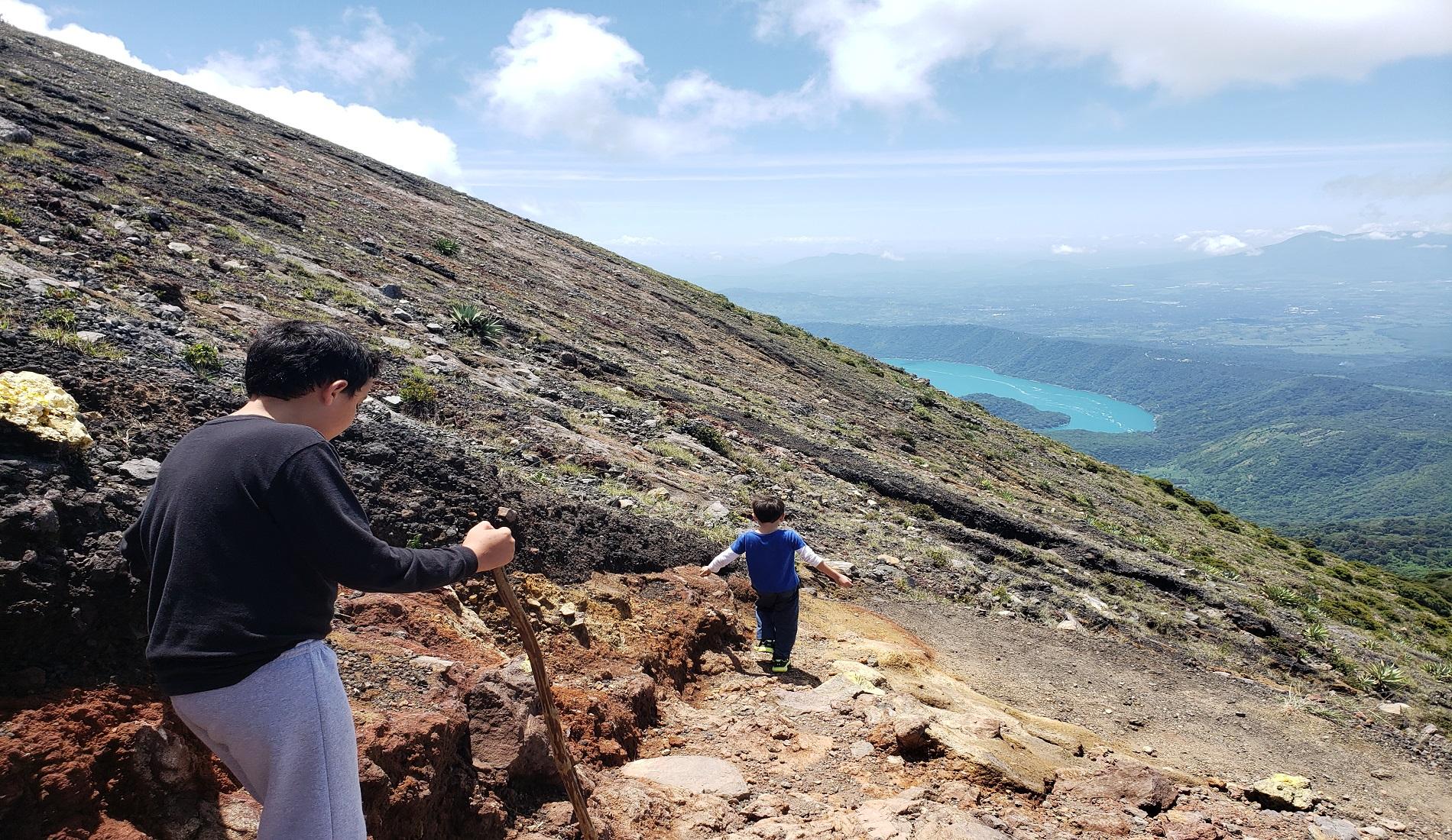 santa ana vulkaan beklimmen