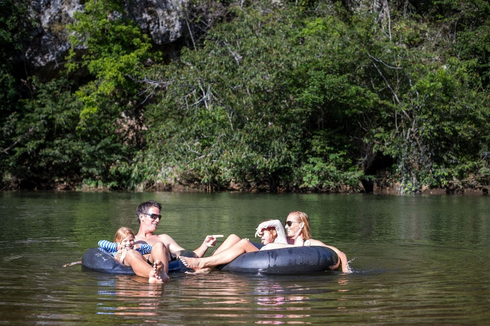 tubing macal rivier familiereis belize
