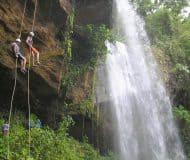 Abseilen in Costa Rica