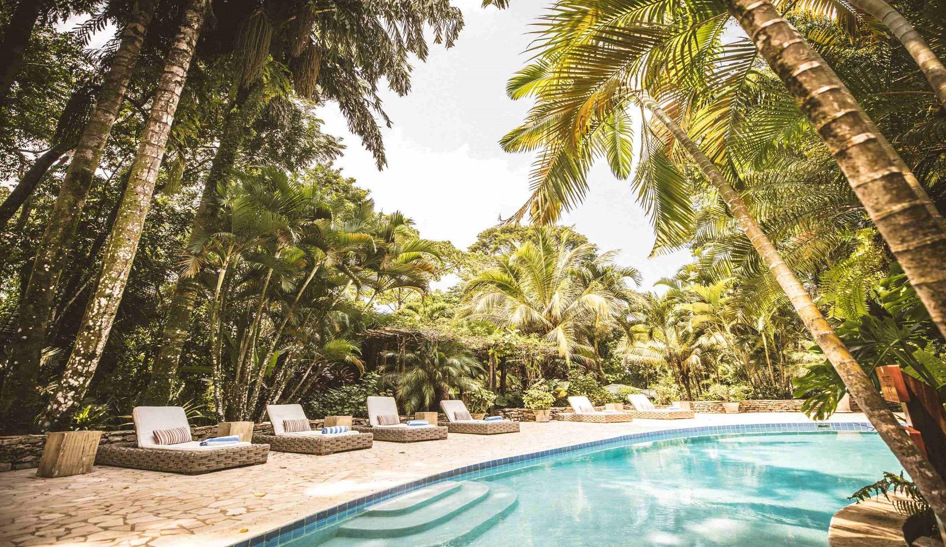 zwembad copal tree belize reizen